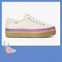 ☆Keds x Kate Spade Triple Up Neon Raffia シューズ☆セール