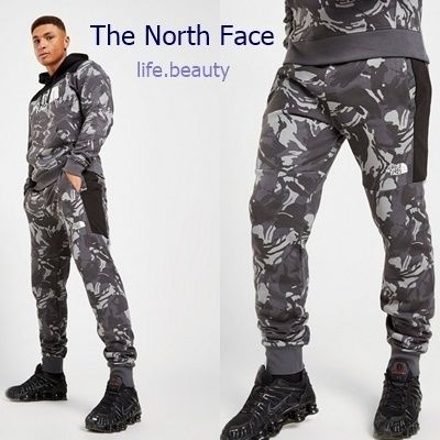 THE NORTH FACE セットアップ 【The North Face】カラーブロック パーカー&パンツセット 送込