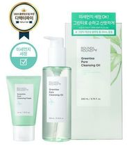 韓国【 ROUND A'ROUND 】Greentea pure cleansing oil セット