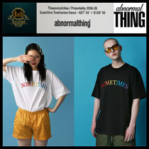 [ABNORMALTHING]SOMETIMES T-SHIRT☆人気☆日本未入荷☆
