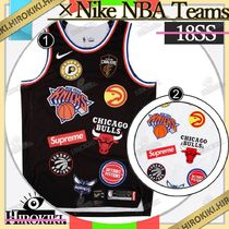 18SS /Supreme × Nike NBA Teams Authentic Jersey ナイキ
