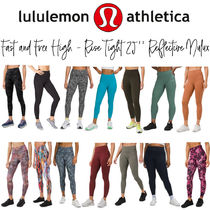 """【lululemon】Fast and Free HighRise Tight25""""Reflective Nulux"""