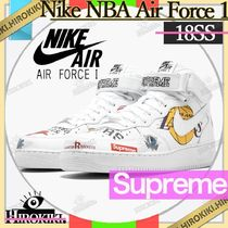 18SS /Supreme × Nike NBA Teams Air Force 1 Mid エアフォース