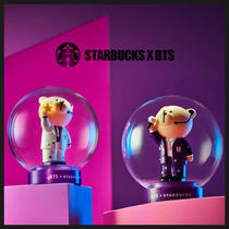 ◆STARBUCKS X BTS◆ BEARISTAR LAMP (全2色) スタバ BTS 限定品