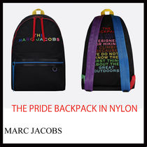 MARC JACOBS★THE PRIDE ナイロン バックパックBK★国発/関税込