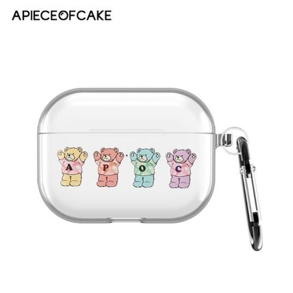 A PIECE OF CAKE スマホケース・テックアクセサリー A PIECE OF CAKE★韓国★Multi Bear AIRPODS PRO case