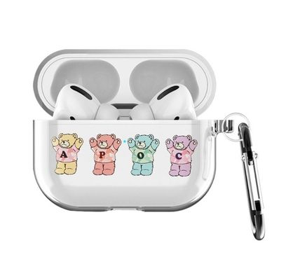 A PIECE OF CAKE スマホケース・テックアクセサリー A PIECE OF CAKE★韓国★Multi Bear AIRPODS PRO case(3)