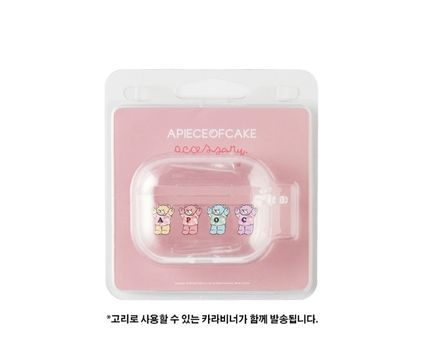 A PIECE OF CAKE スマホケース・テックアクセサリー A PIECE OF CAKE★韓国★Multi Bear AIRPODS PRO case(4)