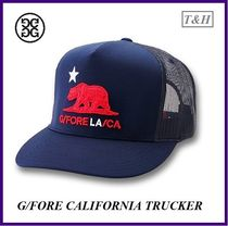 【G/FORE】California Bearの3D刺繍付きMeshゴルフキャップMens
