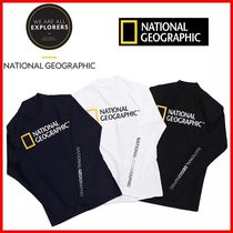 ★NATIONALGEOGRAPHIC★SMALL LOGO RASHGUARD☆正規品・安全発送