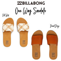 【Billabong】One Way Slides Sandals スライド サンダル♪