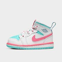 NIKE ベビージョーダン 1 MID White/Digital Pink - 644507 102