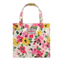 【CathKidston】S BOOKBAG LARGE PAINTED PANSIES