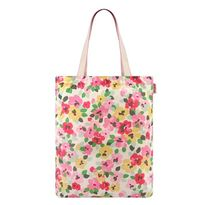 【CathKidston】FOLDAWAY TOTE PAINTED PANSIES