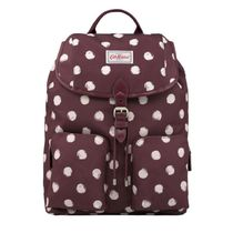 【CathKidston】DUFFLE BACKPACK SMUDGE SPOT MAROON