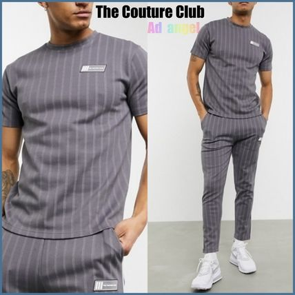 The Couture Club セットアップ The Couture Club/ *ピンストライプTシャツ&ジョガーパンツ*
