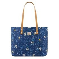 【CathKidston】L Tote Snoopy Midnight Stars