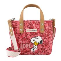 【CathKidston】Xbody Snoopy Love Paper Ditsy