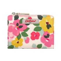【CathKidston】SLIM POCKET PURSE LARGE PAINTED PANSIES