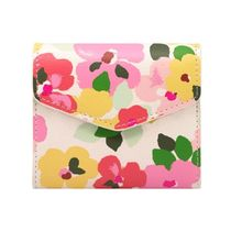【CathKidston】M WALLET LARGE PAINTED PANSIES