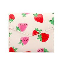 【CathKidston】M WALLET SWEET STRAWBERRY