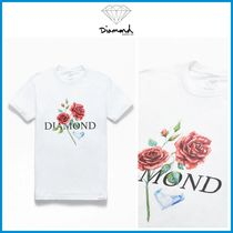 2020SS最新作!! ☆Diamond Supply Co☆ Red Rose T-Shirt
