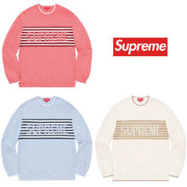 【確保済・国内発】Supreme week10 Chest Stripe Sweater Ssize