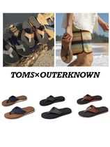 TOMS×Outerknown 注目のコラボ Lagoonビーチサンダル3色