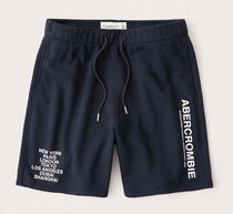 Abercrombie&Fitch City Graphic Shorts ロゴショーツ