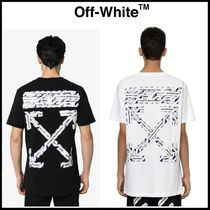【Off-White】AIRPORT TAPE S/S OVER Tシャツ コットン 送関税込