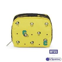 LeSportsac(レスポートサック) メイクポーチ LeSportsac☆BT21 Square Cosmetic in BT21 CHIMMY