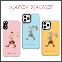Casetify×Karen Walker Runway iPhoneケース グリッター
