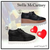 関税送料込☆Stella McCartney☆Elyse BlackStars スニーカー♪