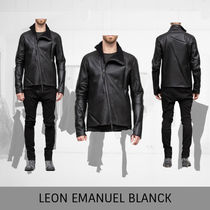 LEON EMANUEL BLANCK Distortion  Jacket,  merino shearling