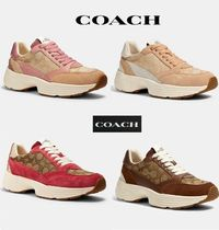 Sale!! かわいい☆Coach☆C152 Tech Runner Platformスニーカー