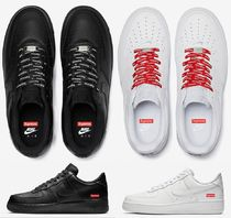 【国内即発】27cm Supreme×Nike  Air Force 1 '07 Lux 白黒1足