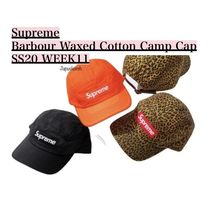 Supreme Barbour Waxed Cotton Camp Cap SS20