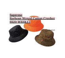 Supreme Barbour Waxed Cotton Crusher SS20