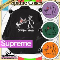 18SS/Supreme Spitfire Coaches Jacket スピットファイヤ コーチ