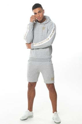 11 Degrees セットアップ 【 11Degrees】TAPED HOODIE SHORTS上下セット 関税送料込み(2)