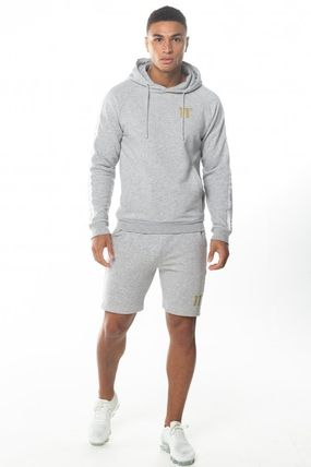 11 Degrees セットアップ 【 11Degrees】TAPED HOODIE SHORTS上下セット 関税送料込み(3)