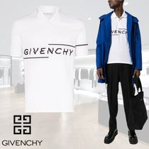 2020SS 新作 GIVENCHY ロゴ ポロシャツ 白 関税送料込み