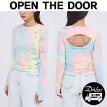 OPEN THE DOOR sunset rash hole T YM528 追跡付