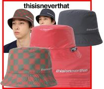 ☆人気☆【thisisneverthat】☆PERTEX Reversible Bucket Hat☆