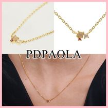 PDPAOLA ATELIER COLLECTION Rose Blush ネックレス Gold 送料込