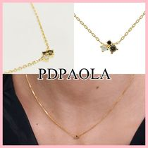 PDPAOLA ATELIER COLLECTION Lime Blush ネックレス Gold 送料込