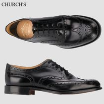 CHURCH'S Leather Burwood 2 Black