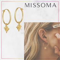 【MISSOMA】LUCY WILLIAMS BEADED COIN CHARM HOOPS ピアス