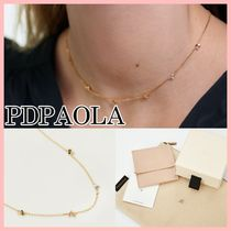 PDPAOLA ATELIER COLLECTION LA PALETTE ネックレス Gold 送料込
