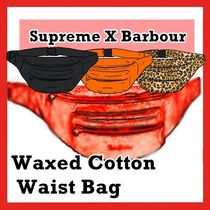 Supreme Barbour Waxed Cotton Waist Bag SS 20 WEEK 11